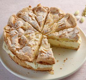 Zitronen Sahne Torte Rezept In 2019 Rezepte Pinterest Kuchen