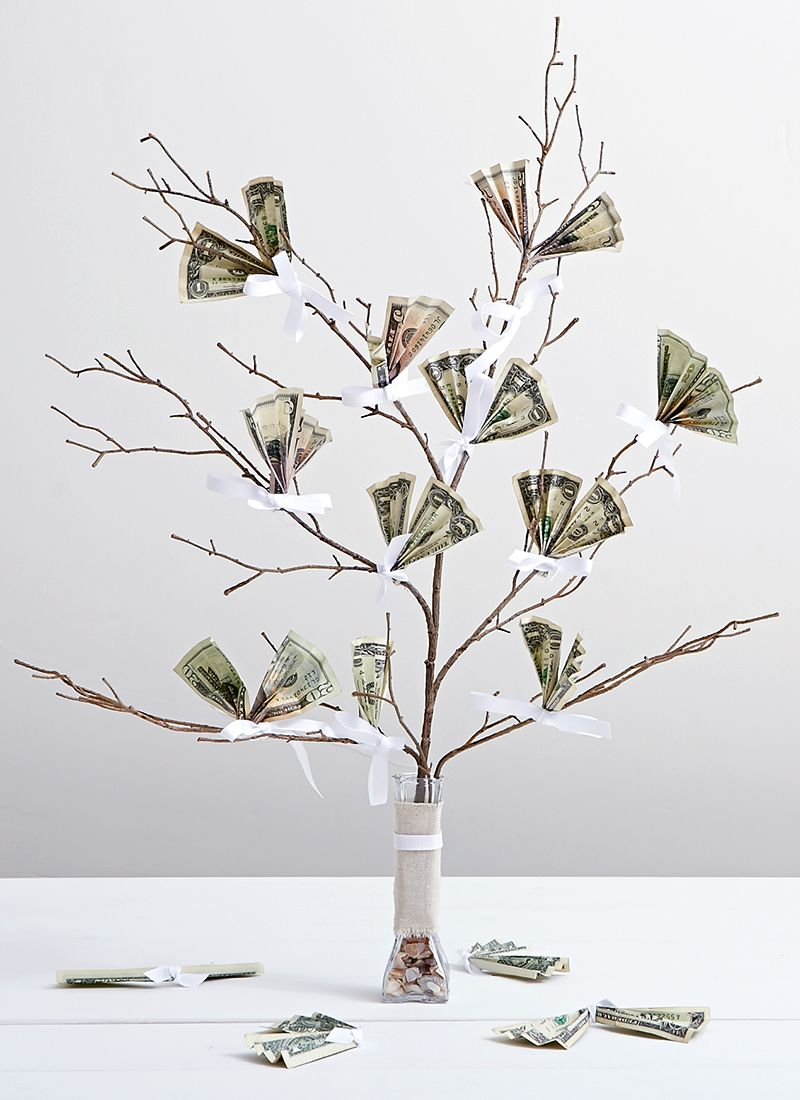 Money Tree, Wedding DIY: 7 Creative Ways to Gift Cash ...