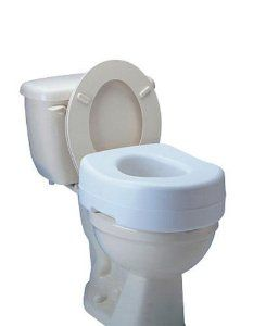 Raised Toilet Seat 5 1 2 High Carex By Raised Toilet Seat 40 95