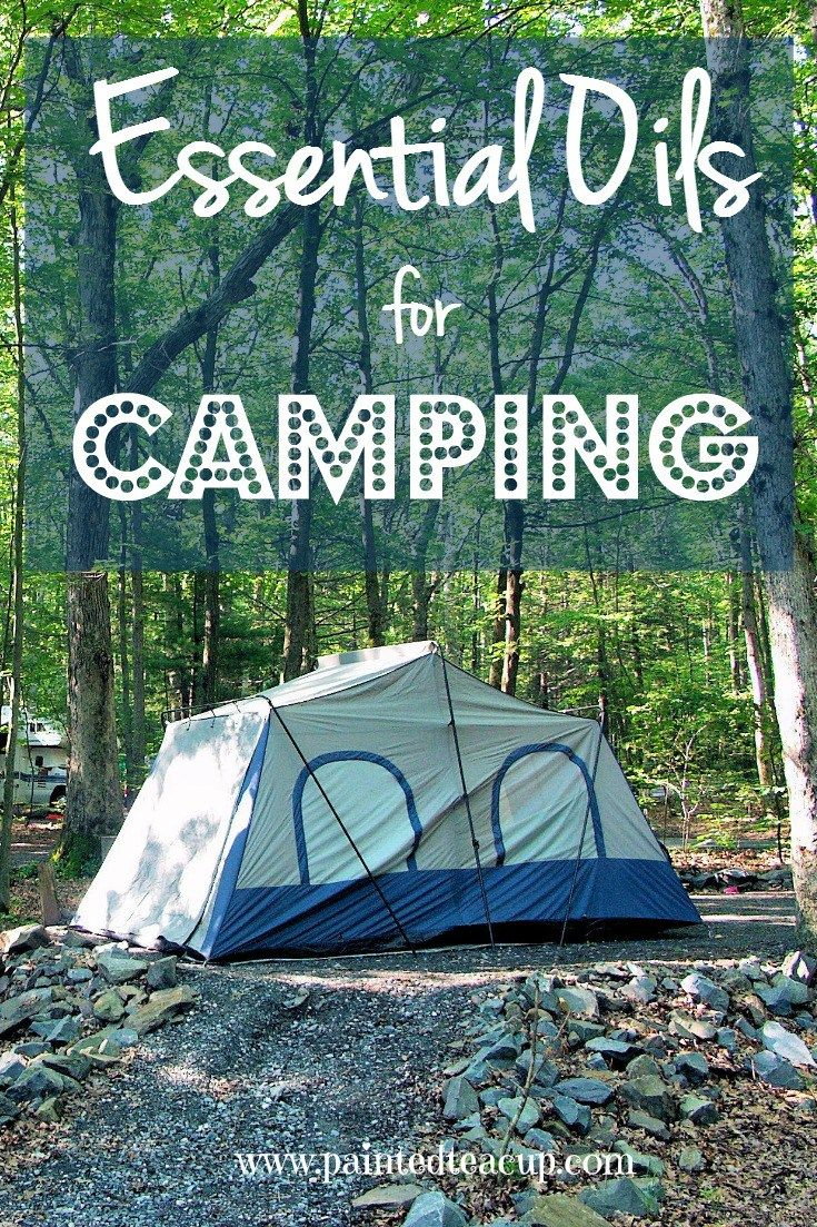 Essential Oils for Camping Camping supplies, Camping