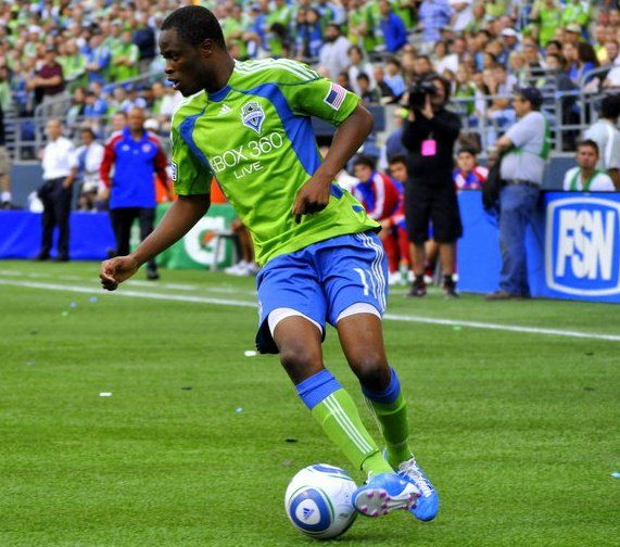 Zakuani = finesse on the field! In my upcoming novel The Sound of Consequence, Stacie is a Zakuani fan!