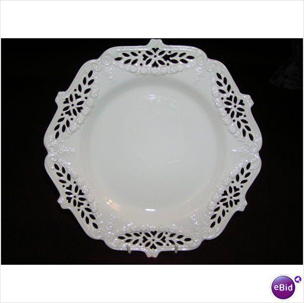 Leedsware Creamware Large Plate