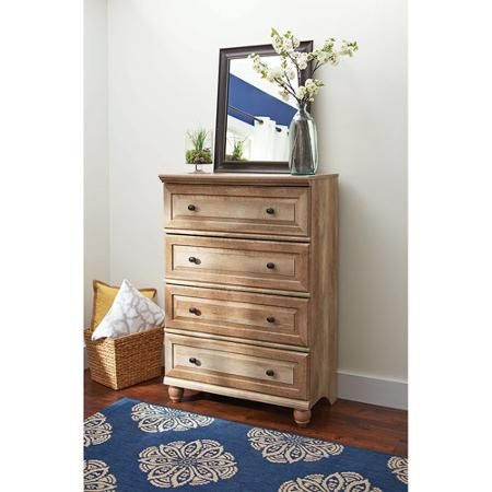 Better Homes And Gardens Crossmill Storage Cabinet Weathered Finish