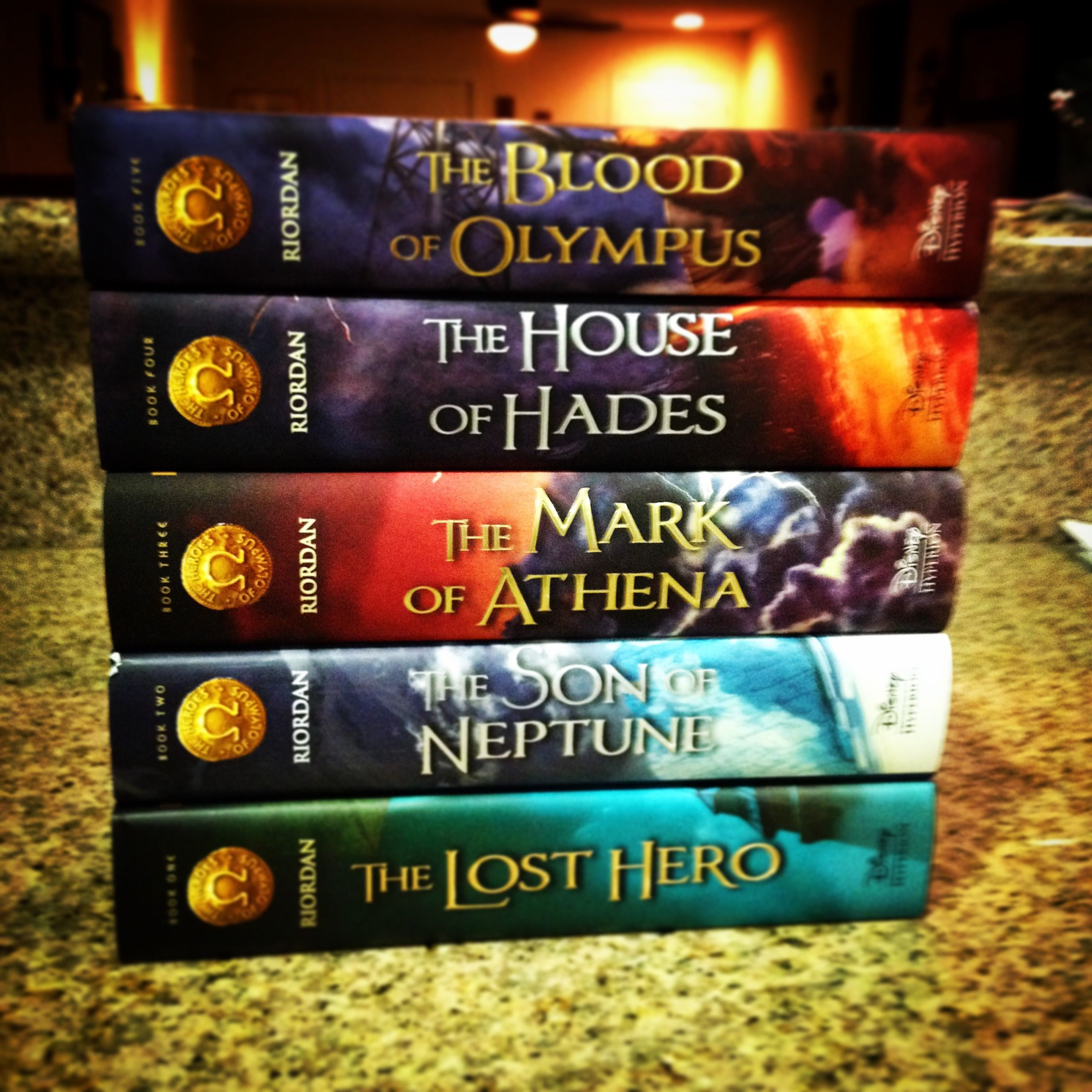 Image result for heroes of olympus books