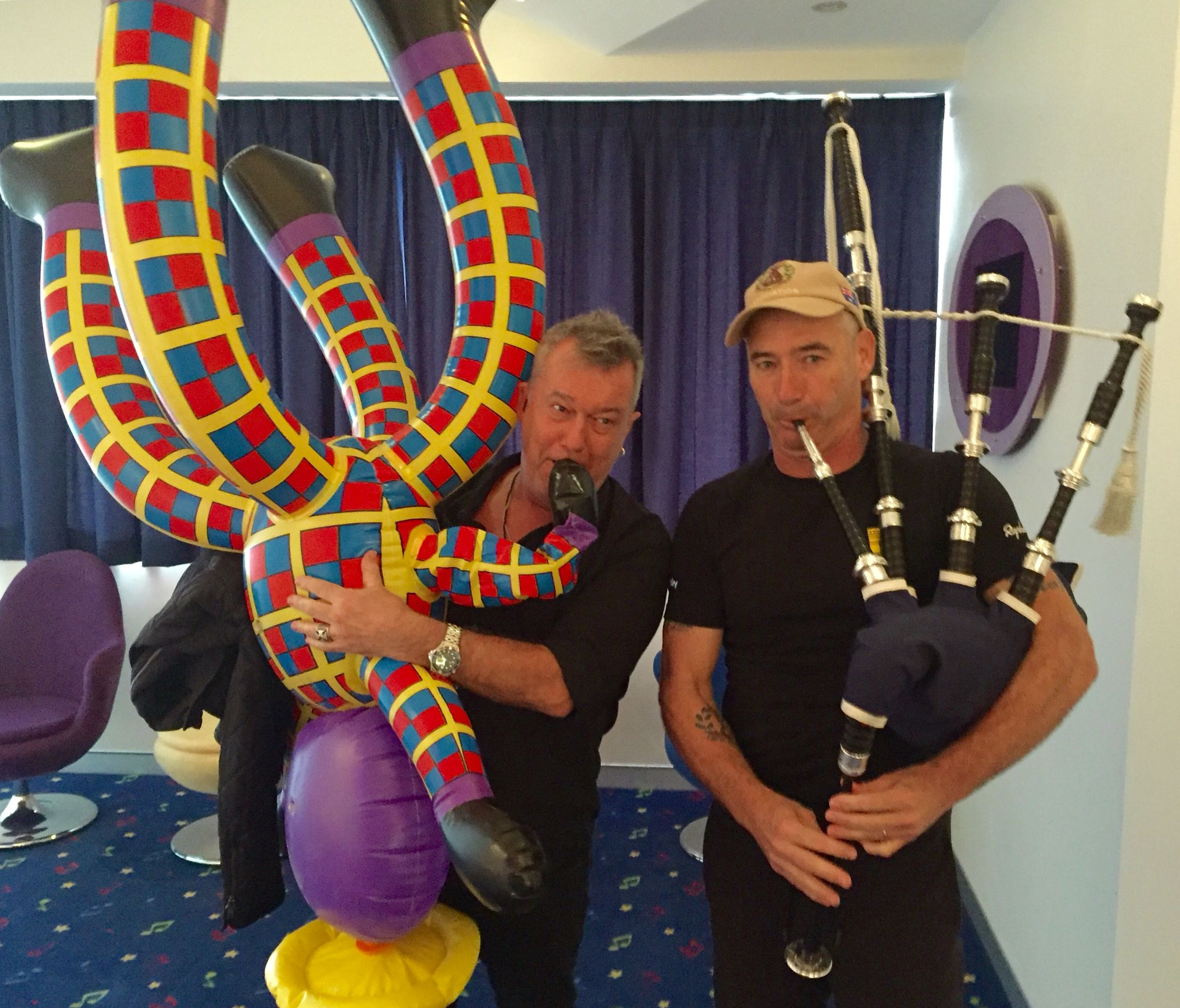 Thats Jimmy Barneshenry The Octopus And Anthony Wiggle The