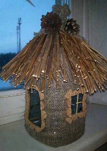 Recycling von Kunststoffflaschen für Vogelfutterhäuschen, kreative Ideen für Recycling-Kunsthandwerk - Upcycling Blog #plasticbottleart