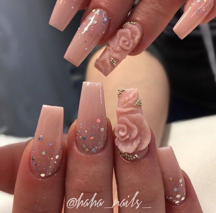 3d Flower Nail Art Flower Nails 3d Flower Nails Nail Designs