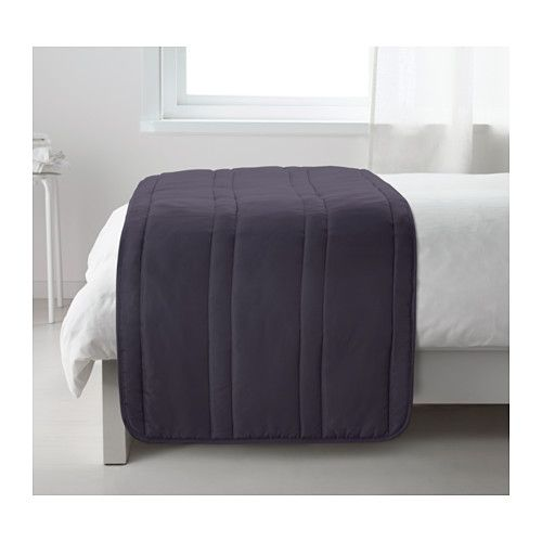 GULLREGN Bed Runner IKEA Extra Soft Since The Bedspread Is Quilted. $20  Queen