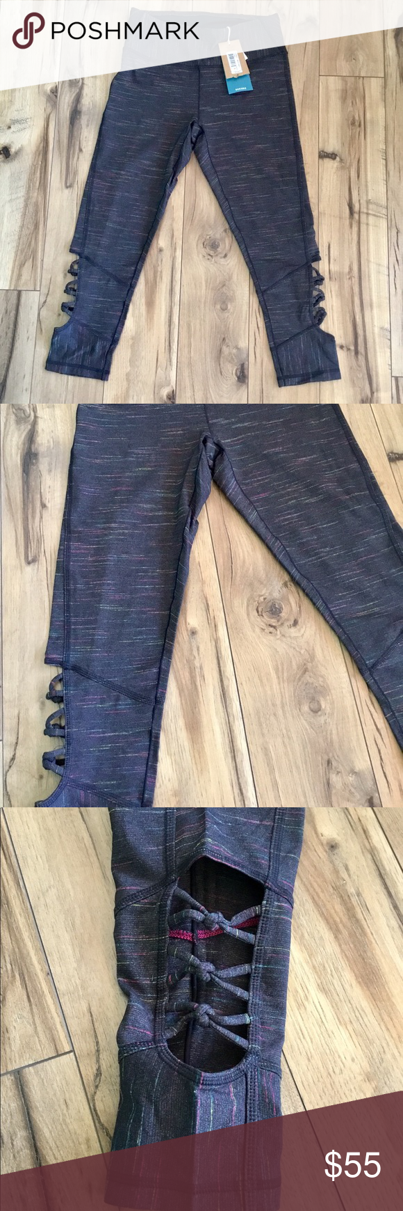 4ae5b6caa397c3 prAna High Rise Itzel Capris in Black Cherry A great pair of high waisted  prAna fitted