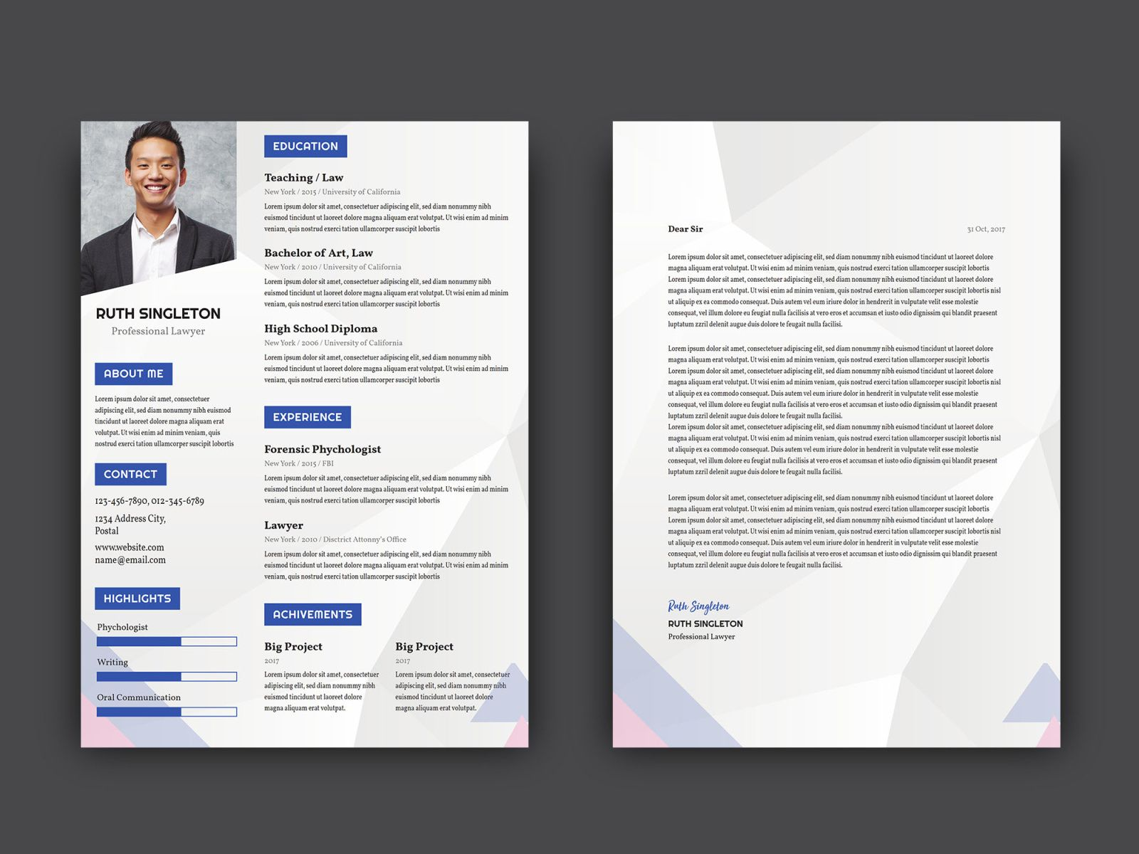 Free Lawyer Resume Template With Cover Letter Best Free Resume Templates Resume Template Free Infographic Resume Template