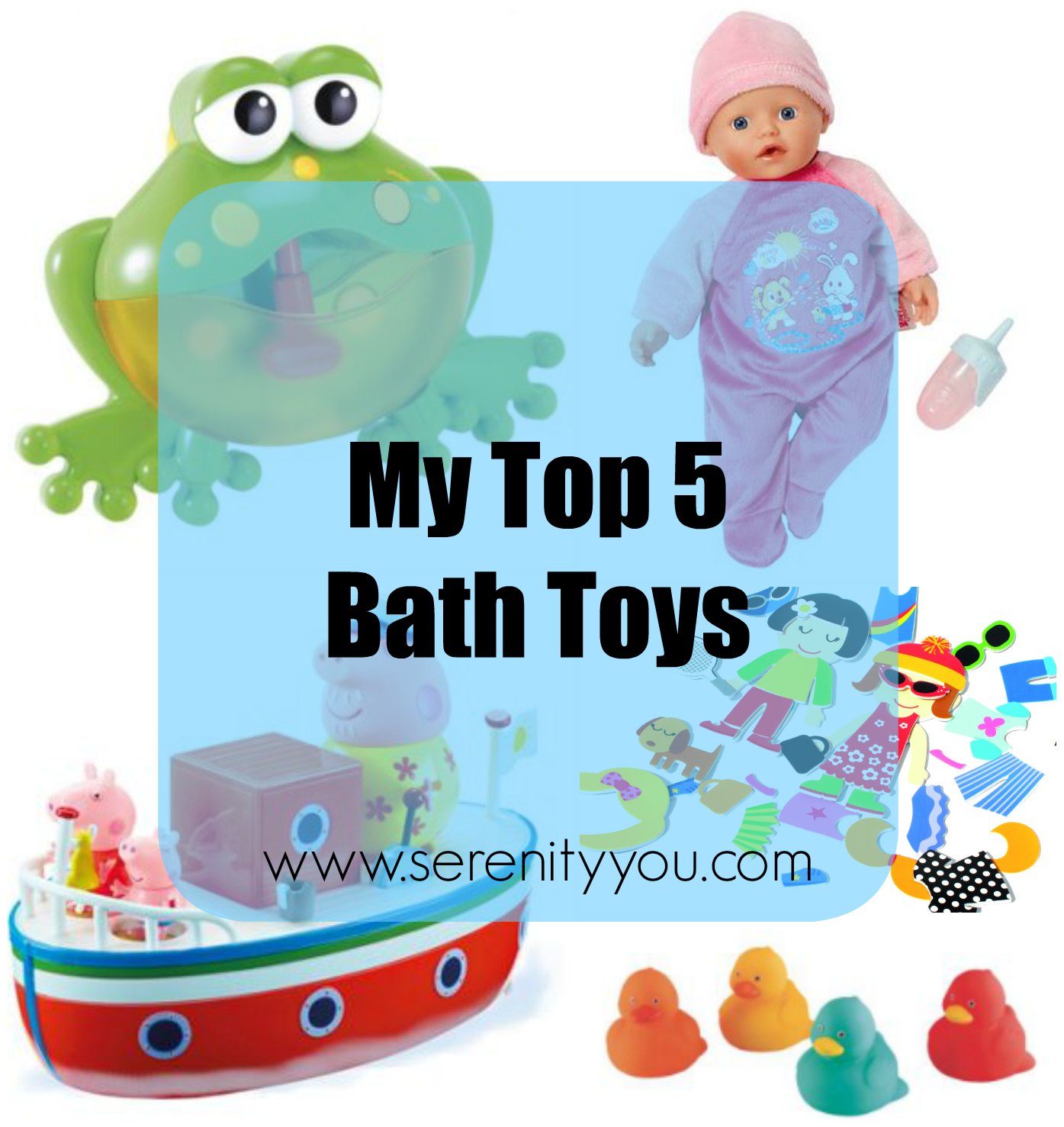 My Top 5 Bath Toys | Bath toys and Toy
