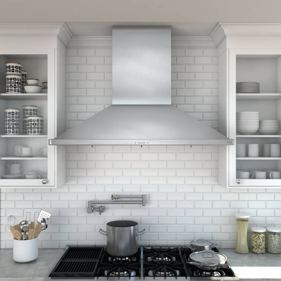 Boasting Classic And Professional Style The Siena Pro Hood By Discoverzephyr Wall Mount Range Hood Range Hood Kitchen Range Hood
