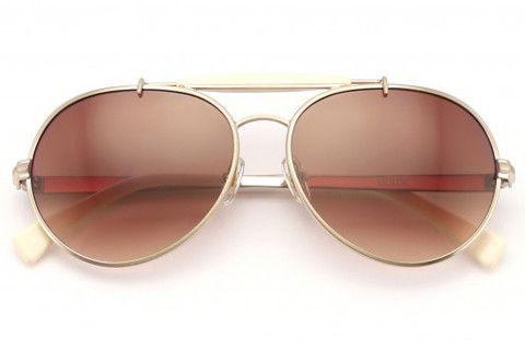 0bed864063 Wildfox - Goldie Antique Gold   Cream Sunglasses