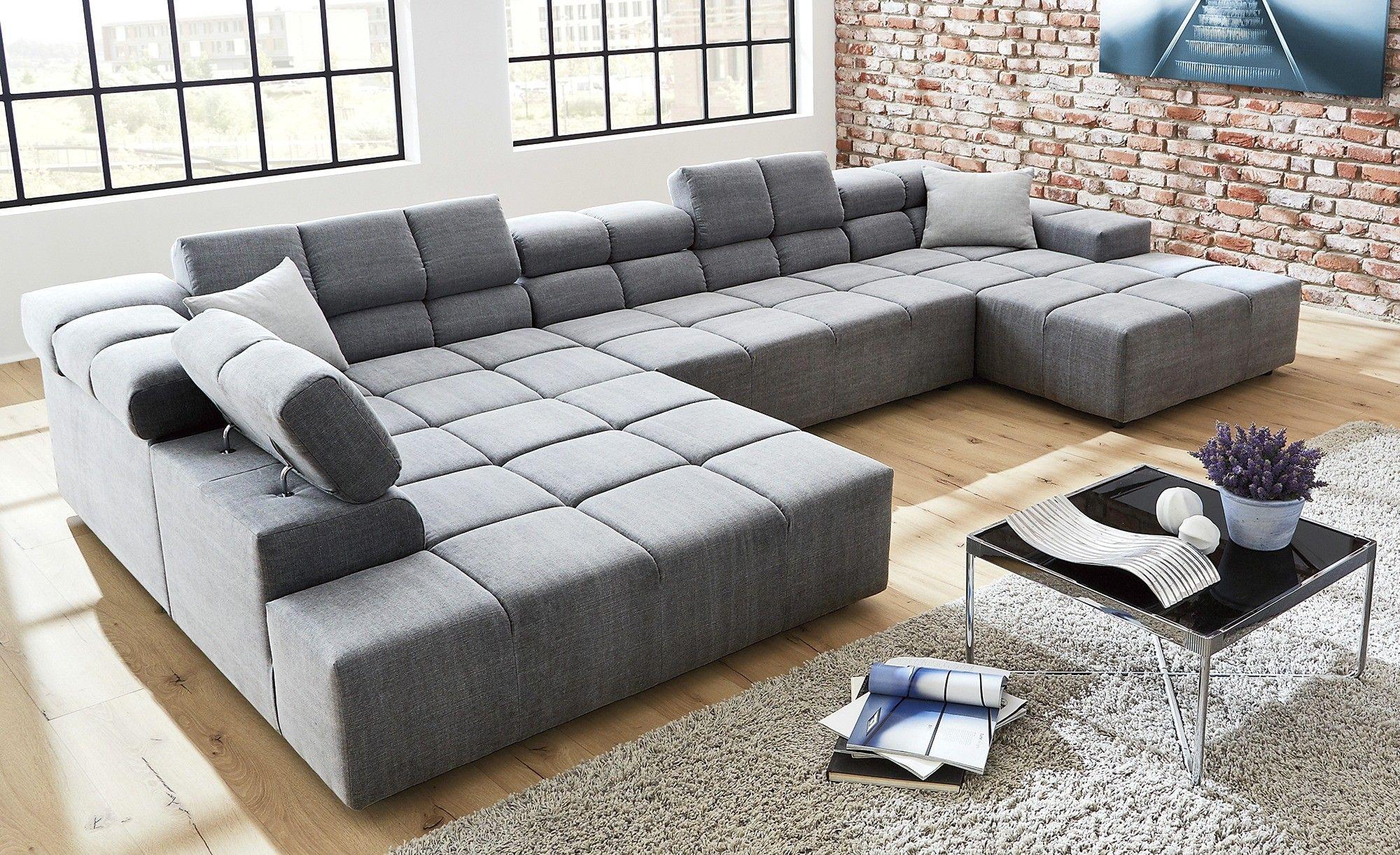 Wunderbar Wohnlandschaft Xxl U Form Big Sofa Full Size Furniture