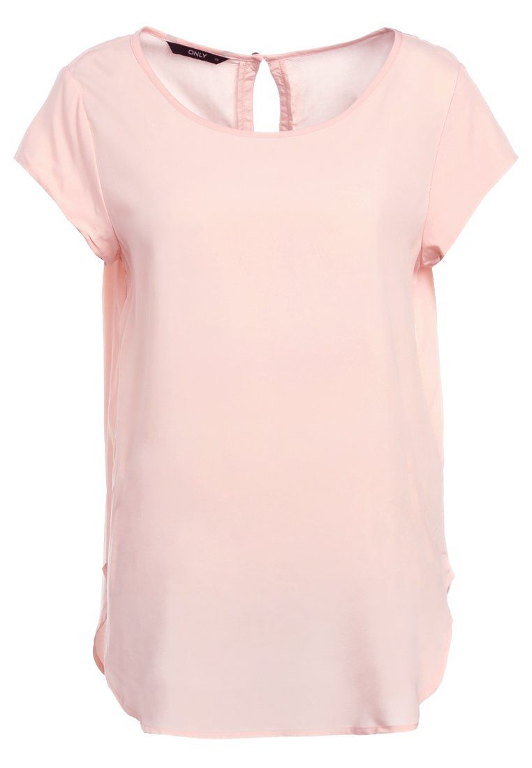 ONLY ONLNOVA SOLID - T-Shirt print - rosa 1 Tag, 7 Stunden 8