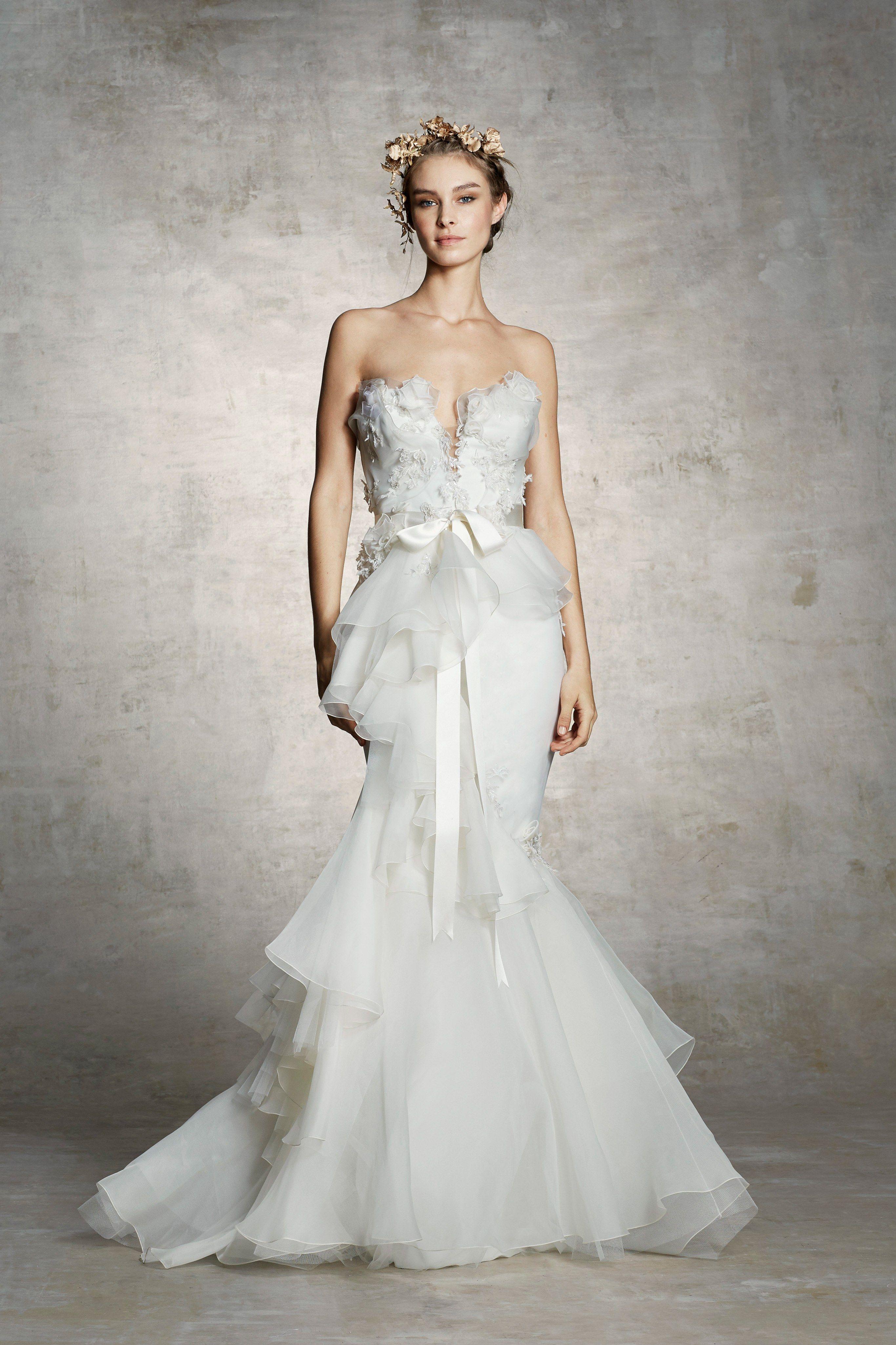 Marchesa bridal spring fashion show current fashion shows and