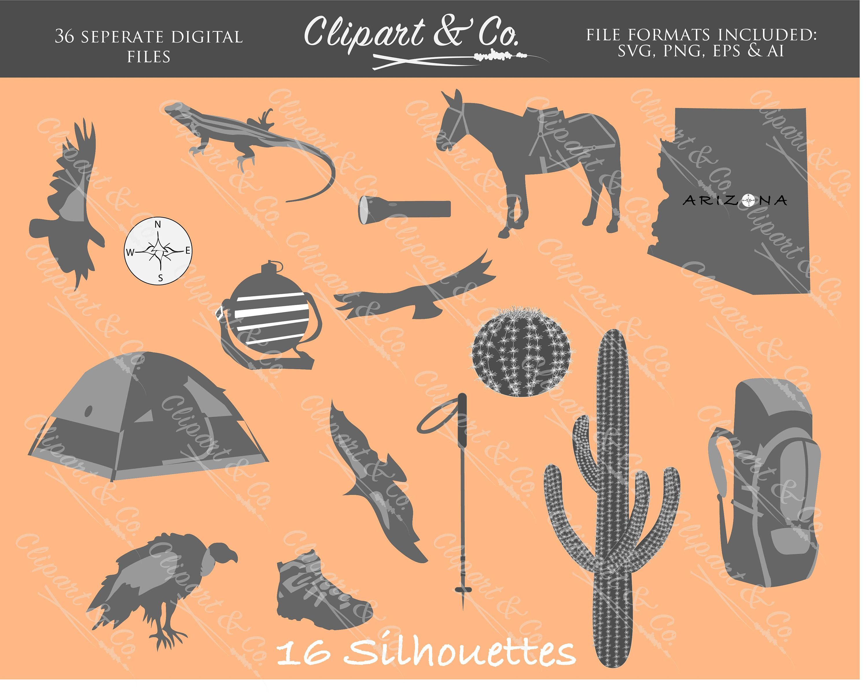 medium resolution of camping clipart silhouette vector png format hiking backpack printed materials digital