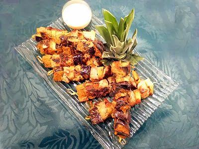 brochettes de filet mignon cr oles la recette facile par c barbecue et plancha pinterest. Black Bedroom Furniture Sets. Home Design Ideas