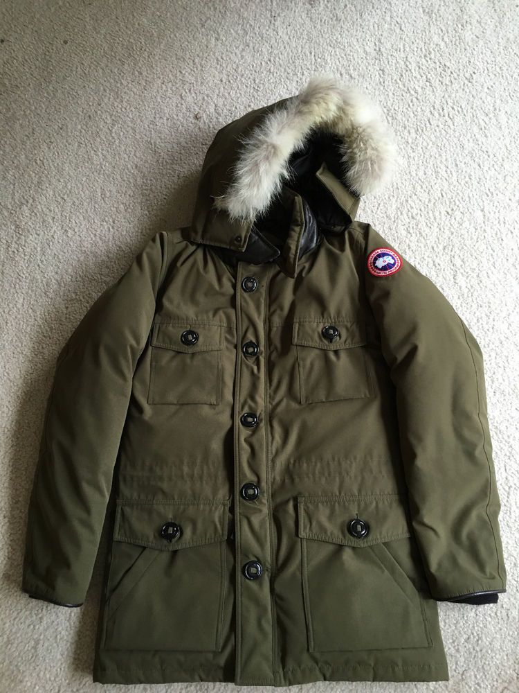 23ce041841f4 Men s Canada Goose Parka Jacket Coat Banff Military Green Size M Excellent   fashion  clothing  shoes  accessories  mensclothing  coatsjackets (ebay  link)