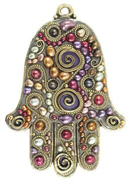 In recent years, thanks to its connection with the mystical strain of Judaism known as  Kabbalah, the hamsa has become so popular that celebrities such as Madonna, Demi Moore, and Brittany Spears have been spotted wearing them.