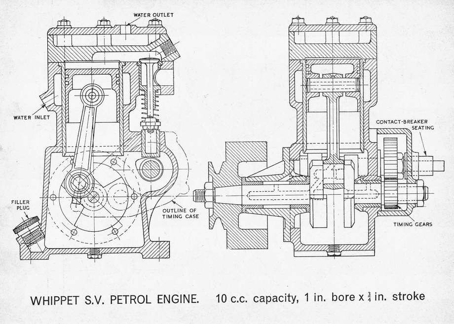 4 stroke engine single cylinder design program� | Engineering, Blueprints,  V8 enginePinterest