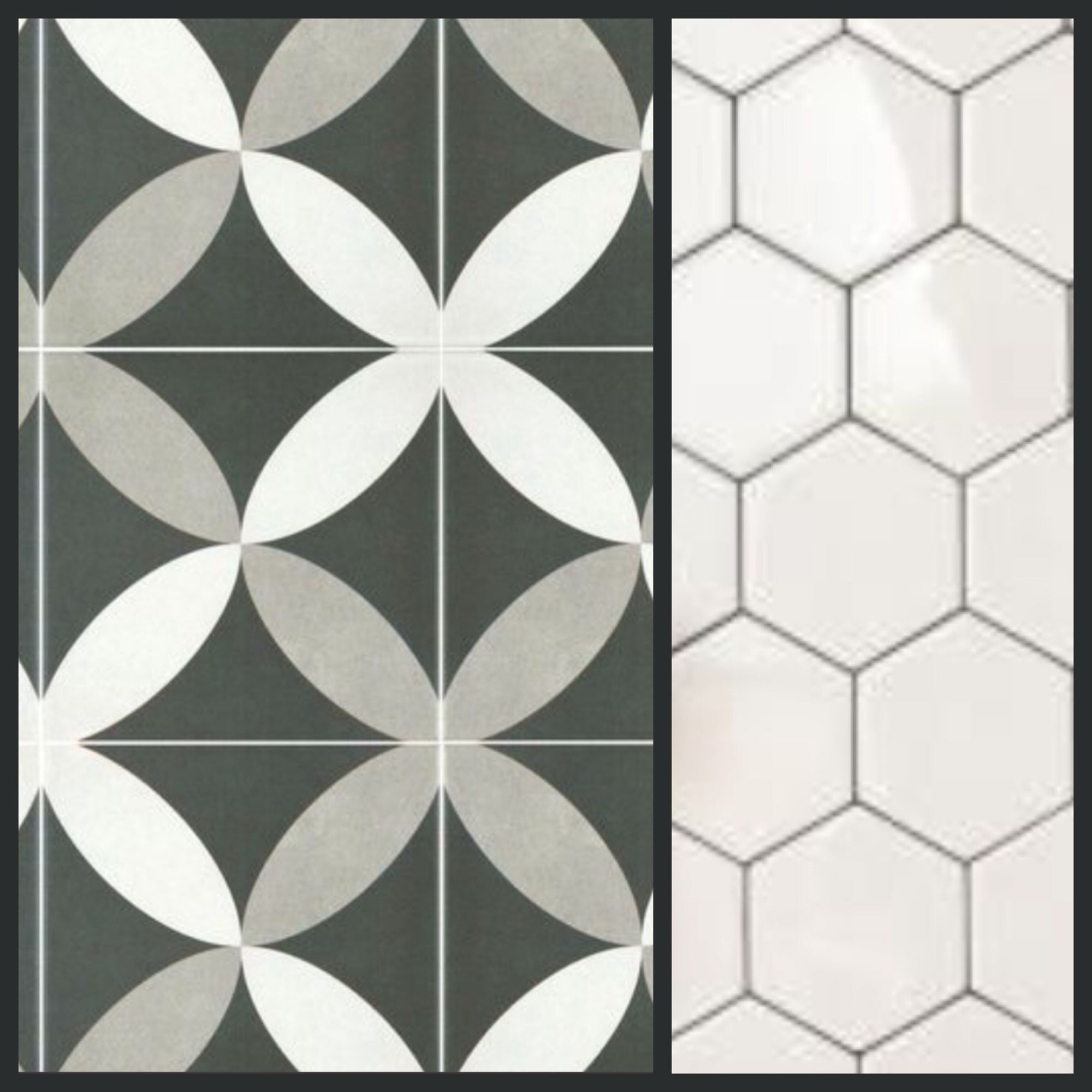 Tile combo for kitchen backsplash 775 inch matte petal pattern tile combo for kitchen backsplash 775 inch matte petal pattern ceramic square tile 550 sqft for above the sink 4 inch gloss white hexagon tile dailygadgetfo Image collections