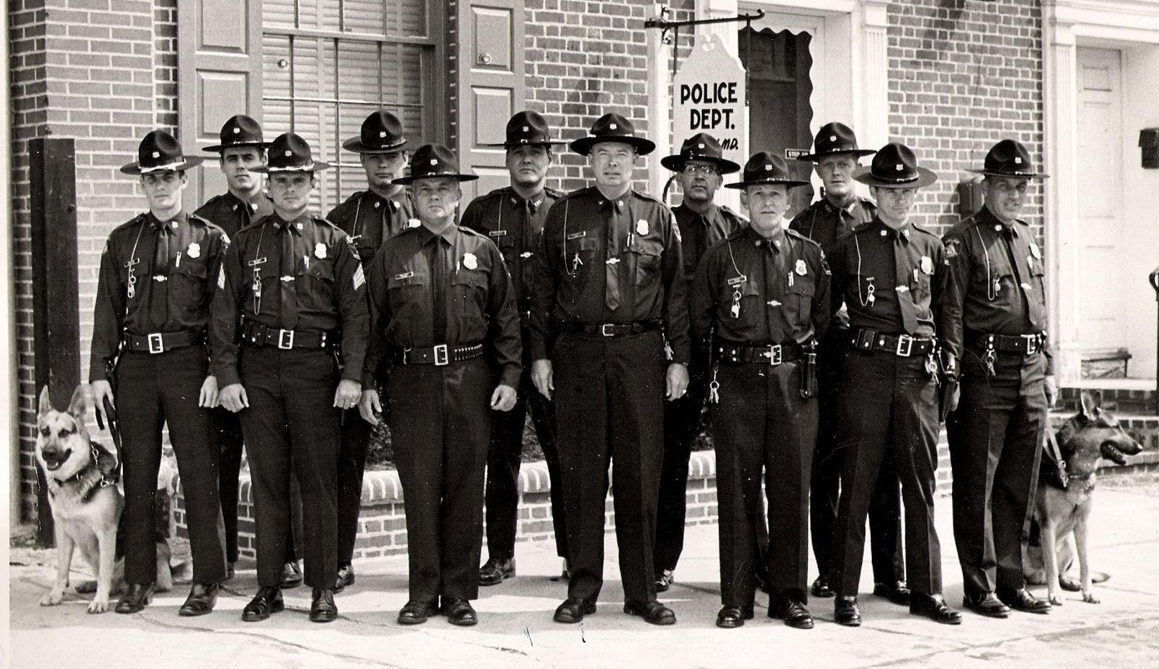 The Elkton Police Department, 1968 Law enforcement