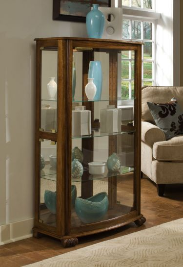 Superieur Mantel Curio Cabinet   Pepper Oak, Pulaski, Curios Collection | Home  Gallery Stores