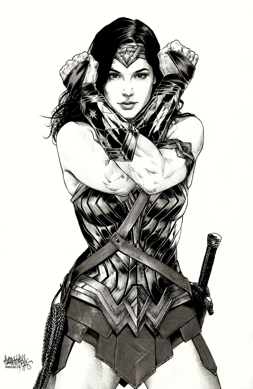 Gal Gadot As Wonder Woman By Garnabiel Kraken Fantasy Armor
