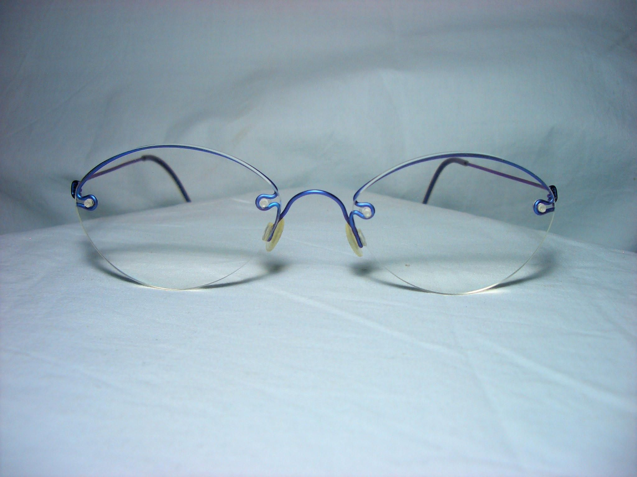 Lindberg Denmark, Air Titanium, eyeglasses frames, wire half rim ...