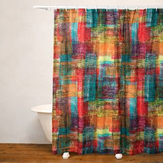 Crayola Etch No Liner Shower Curtain Eclectic Shower Curtains