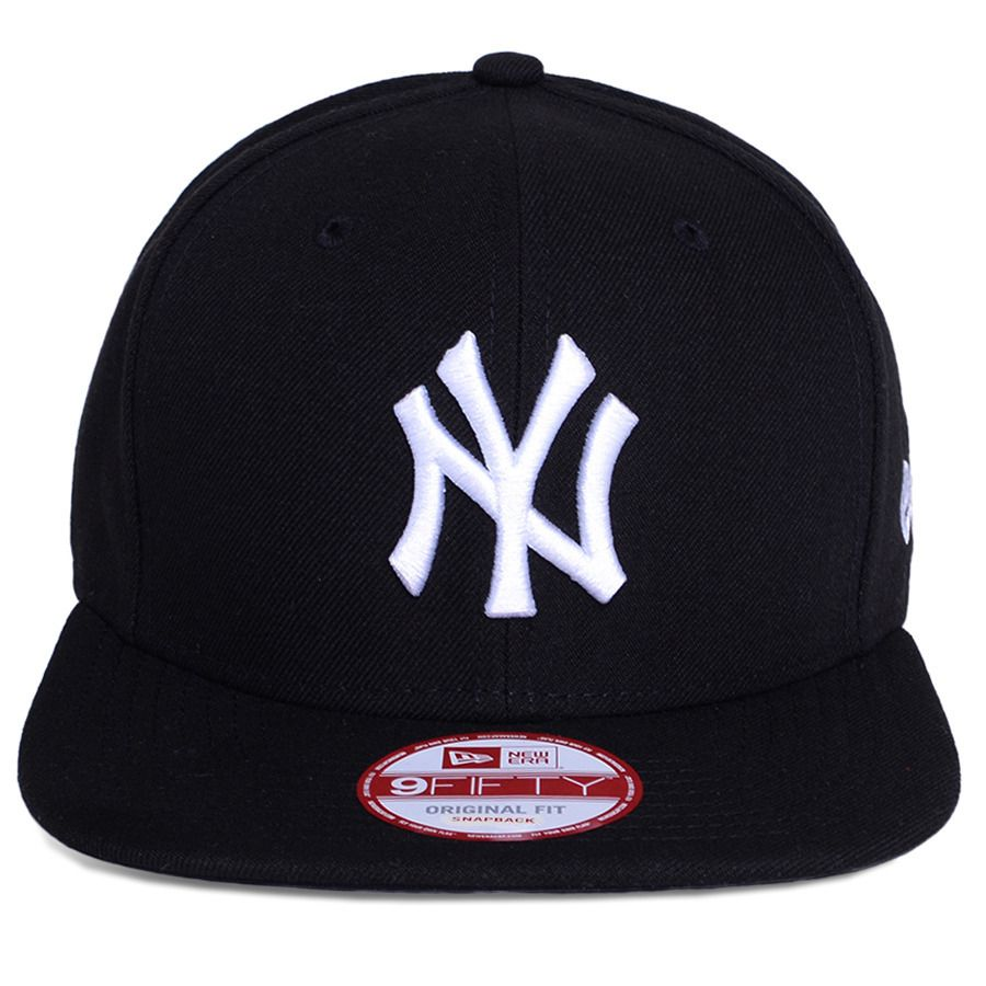 097a4ec5962f8 Boné New Era Snapback New York Yankees Original Fit Preto