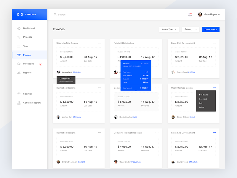 Invoice View  Ui Ux Ux Design And Ui Ux Design