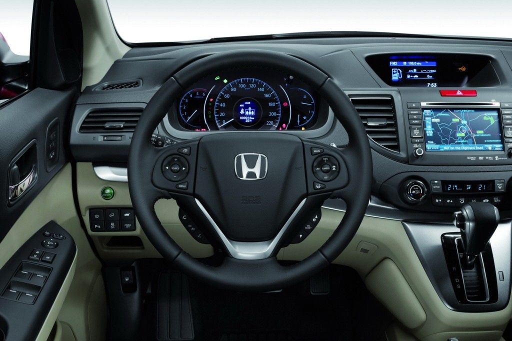 Honda Has Unveiled The CR  V For Europe. SUV Is A Bit Longer Than The  Previous Model. Honda Describes It As A Perfectly Balanced Car.