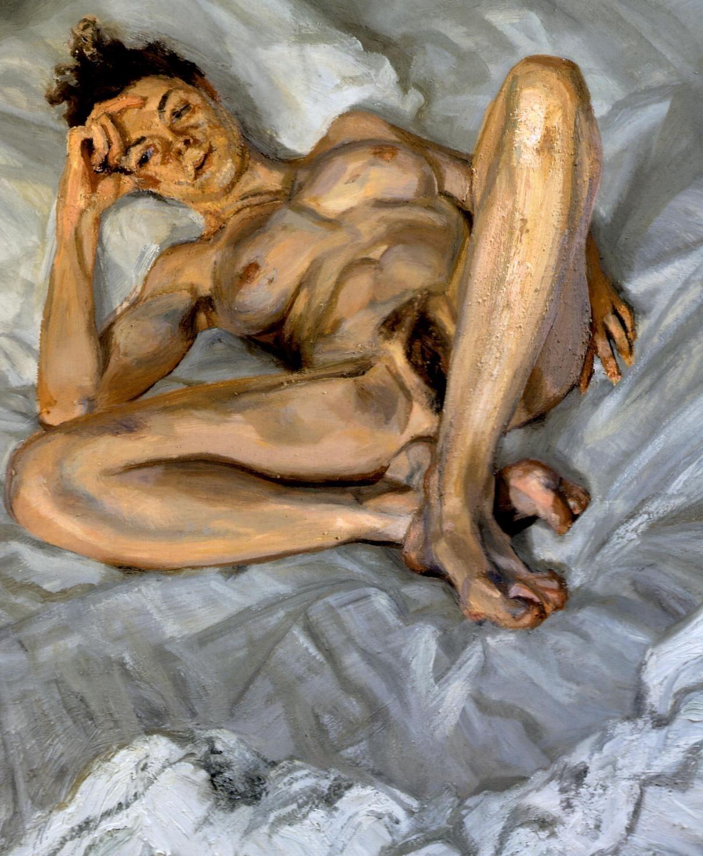 freud nudes Lucian