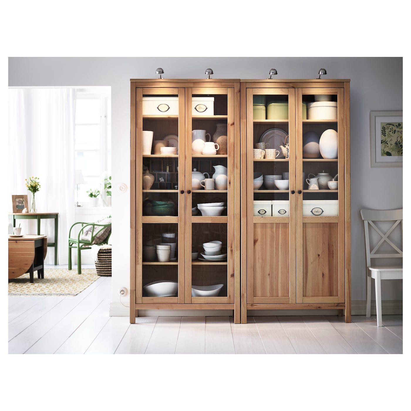 Mobler Og Interior Til Hele Hjemmet Glass Cabinet Doors Home Furnishings Hemnes