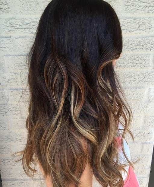 31 Balayage Hair Ideas For Summer Stayglam Low Maintenance Hair Balayage Asian Hair Asian Hair