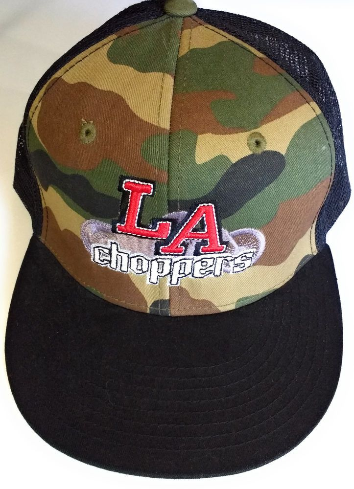dccd65f6 LA Choppers Baseball Style Hat Cap Camouflage Black Mesh Snapback #Decky  #BaseballCap