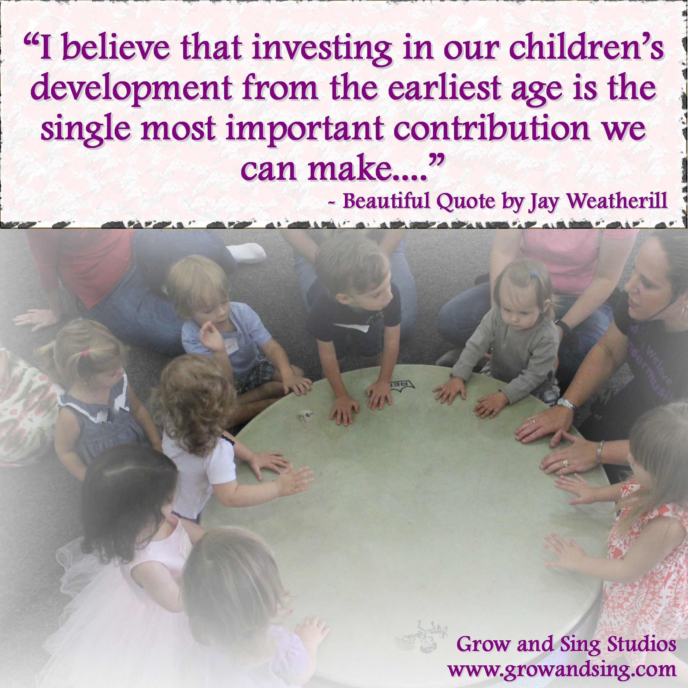 Quotes On The Importance Of Music: Quote About Child Development, Early Childhood Education