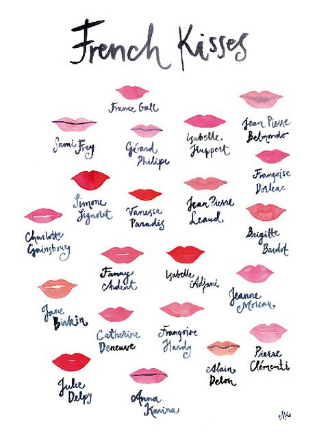Marie Klara French Kiss I Love Paris Fun French