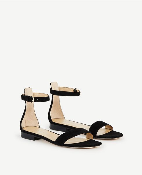 a675fe504be2 Thumbnail Image of Color Swatch 6600 Image of Brinley Suede Flat Sandals