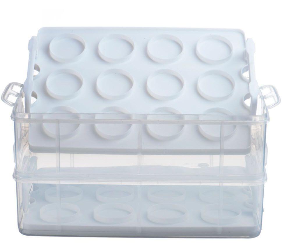 Cupcake cookie storage carrier box dessert container
