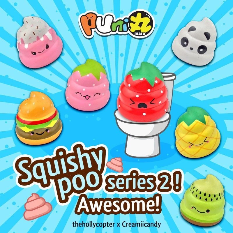 Thumbnail Pooseriesposter Squishies Cute Squishies