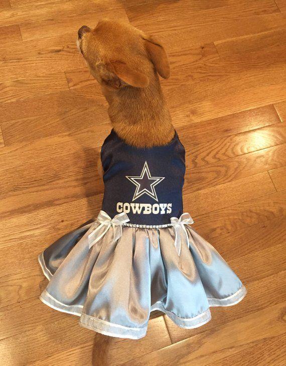 de587b7a99 Dallas Cowboys Dog Dress