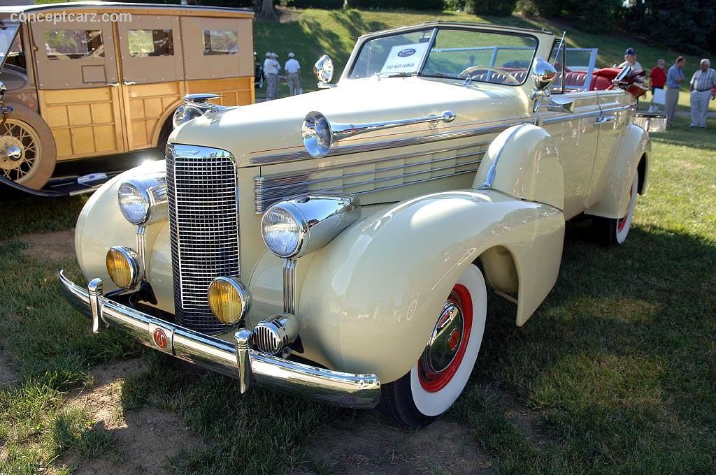 1938 Lasalle | 1938 lasalle series 50 news pictures specifications ...