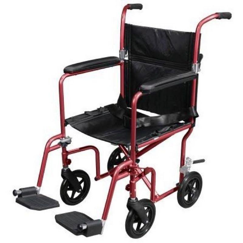 medline transport chair footrest