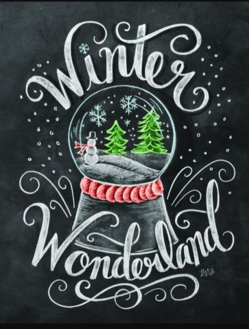 Christmas Chalkboard Art 8 - decoratoo #christmaschalkboardartideas
