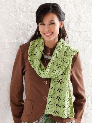 Wrap It Up Scarf | Yarn | Free Knitting Patterns | Crochet Patterns | Yarnspirations
