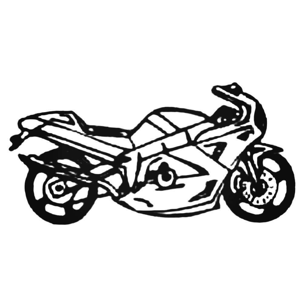 Atv sportbike decal sticker
