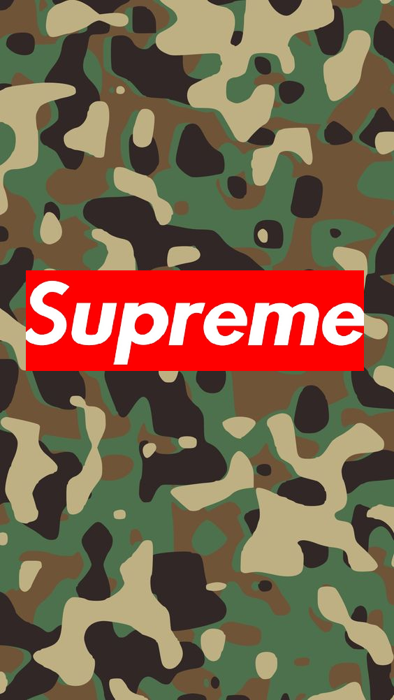 Supreme Camo Wallpaper Group (37 ), Download for free